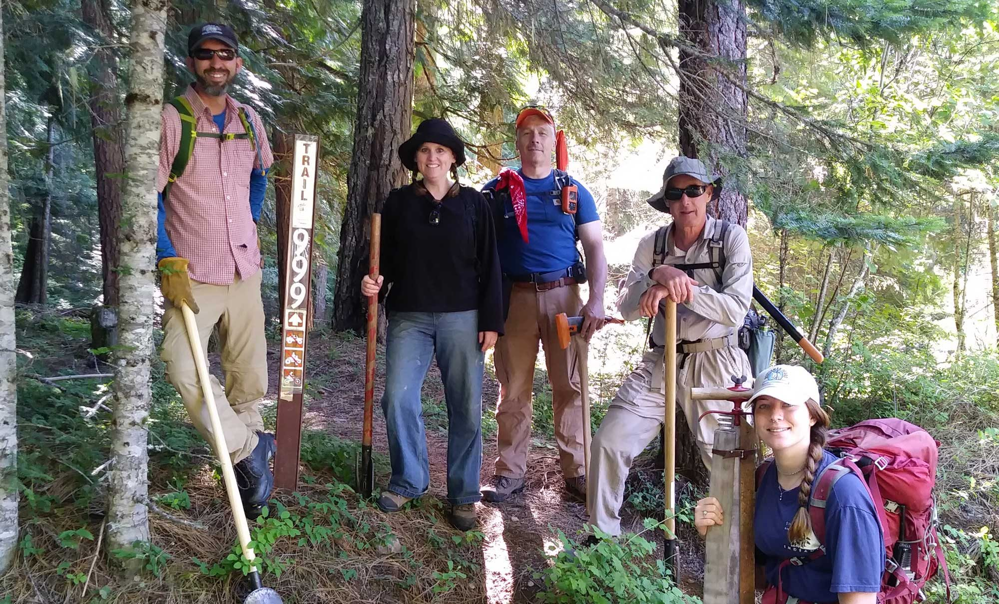 FSPW volunteers keep trails open (and fun)