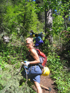 Come help us clear a trail in the Scotchman Peaks!