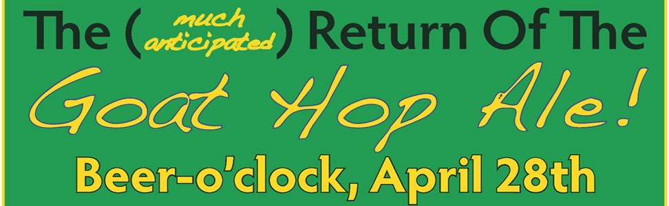 Goat Hop Ale Redux and Winter Tracks Volunteer Celebration