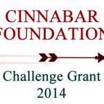 Cinnabar Foundation Challenge Grant