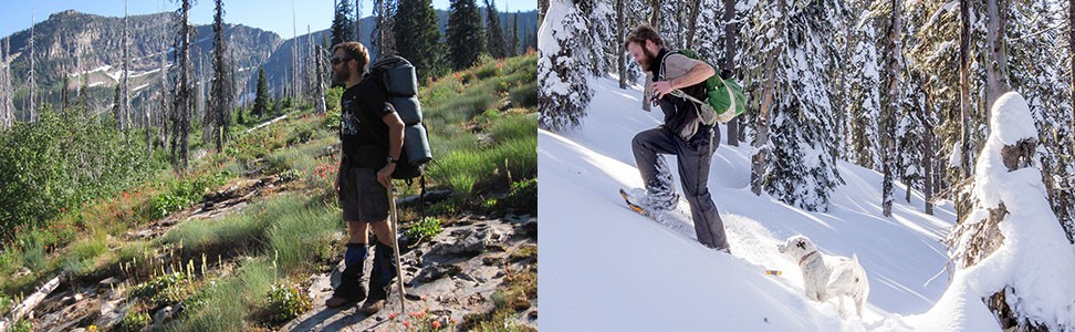 Summer or winter: Dave Kretszchmar claims his trail(s)!