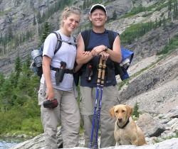 Gene and his daughter Rachel