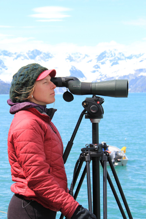 Kelsey Brasseur is looking forward to a winter in the field looking for mustelids with FSPW