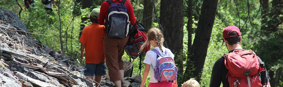 Bring your kids hiking with FSPW!