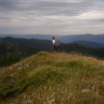Dour Ferrell on  Whoopee Peak.