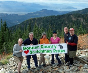 Bonner County Loves the Scotchman Peaks!