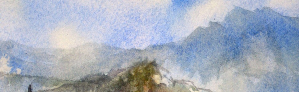 Karen Robinson is Friends of Scotchman Peaks Wilderness first Artist-in-Residence.